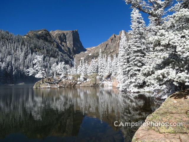 Glacier Basin Rocky Mountain National Park View Dream Lake