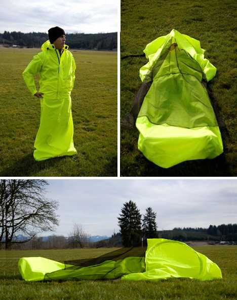 A first of itu0027s kind the JakPak is a wearable tent. It offers the full package a waterproof jacket a sleeping bag and a tent all-in-one! & The Worldu0027s Most Amazing Tents - RoverPass