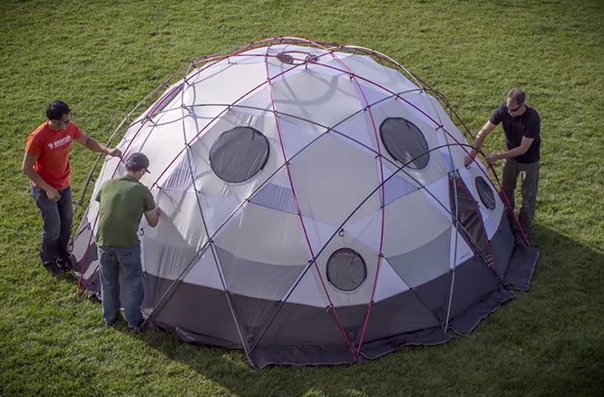 Stronghold-Hardware & The Worldu0027s Most Amazing Tents - RoverPass