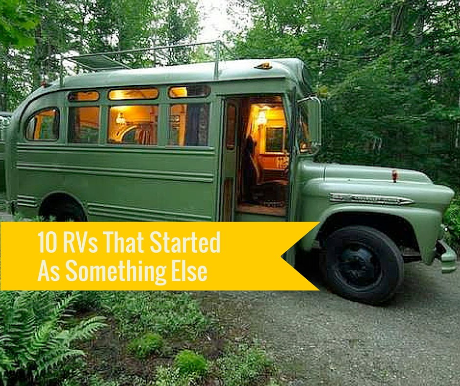 School Bus Conversion and Other Brilliant RV Conversion Ideas