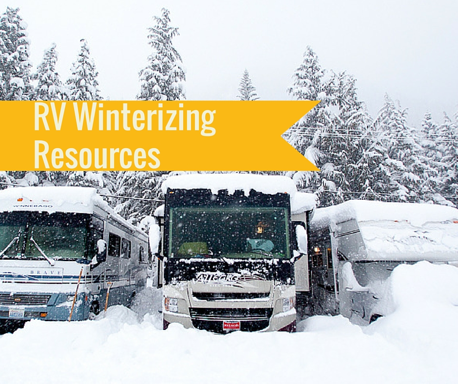 RV Winterizing Resources