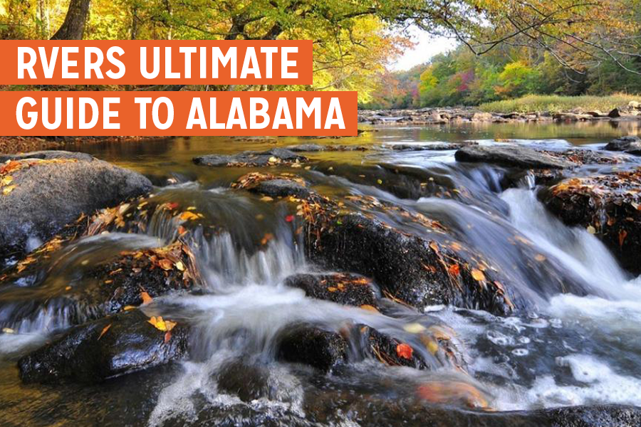 The RVers Ultimate Guide to Alabama