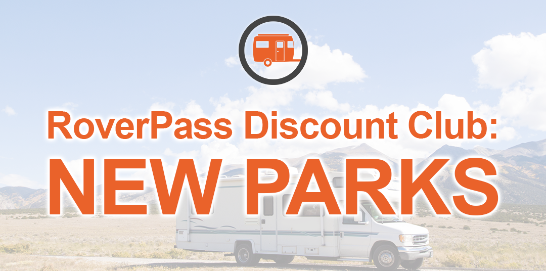 New RV Park Discount Club Members