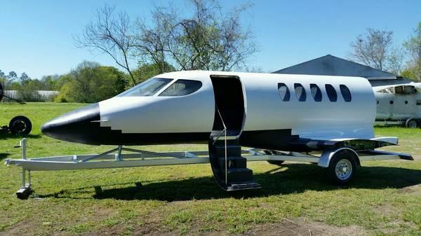 airplane camper