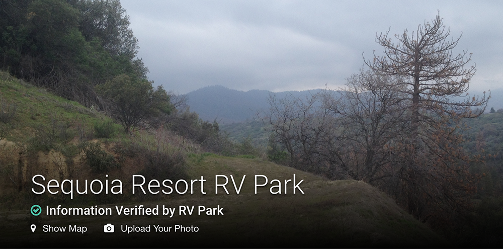 sequoia resort rv park