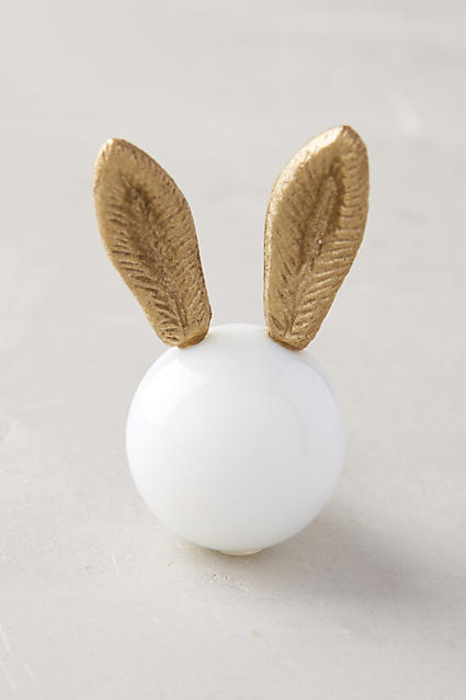 All Ears Knob, $12, Anthropologie
