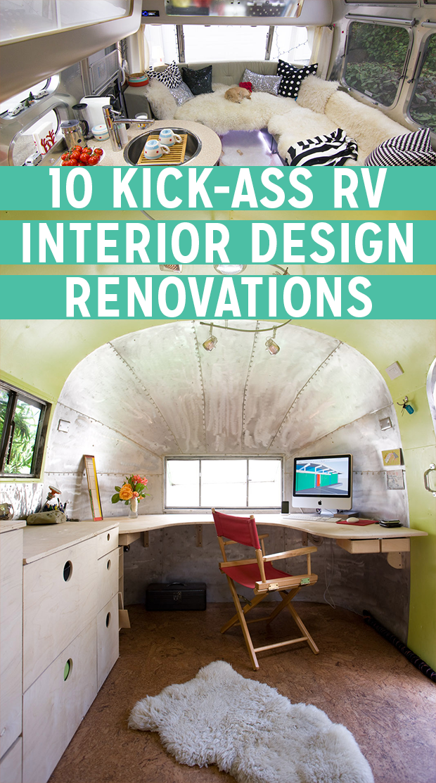10 Kick-Ass RV Interior Design Renovations