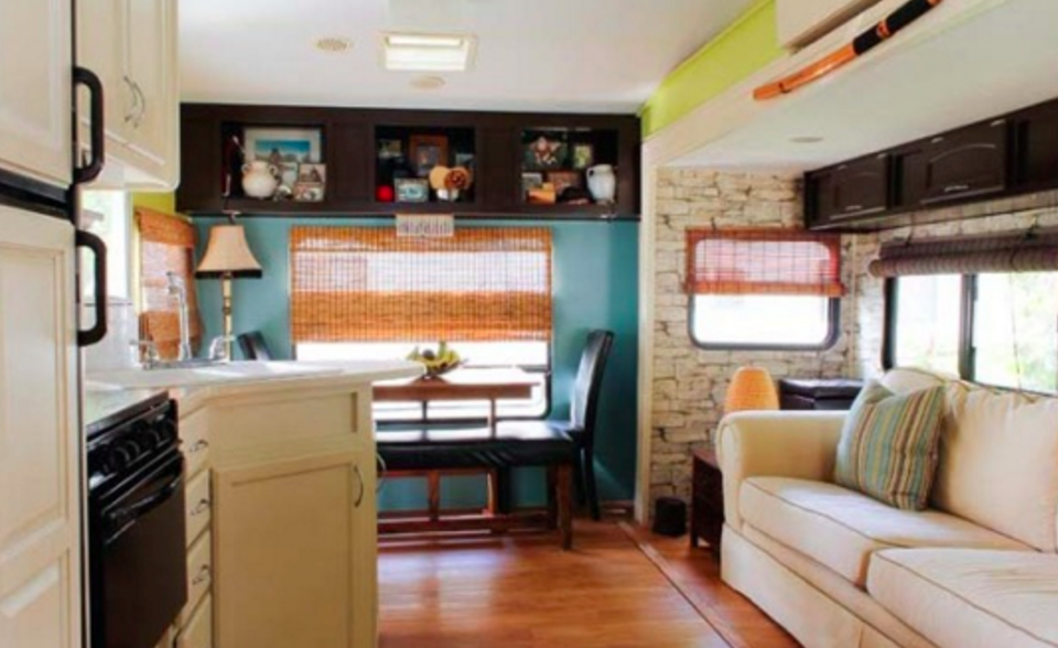 Rv remodeling related keywords suggestions rv for Interior motorhome designs