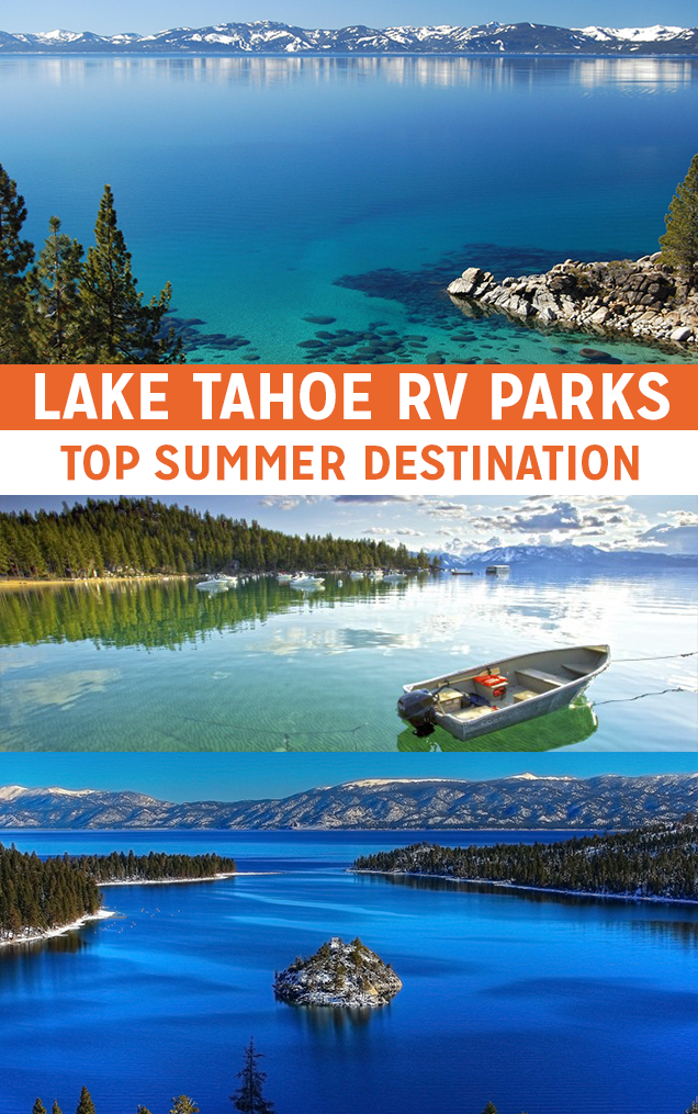 Summer Destination: Lake Tahoe RV Parks