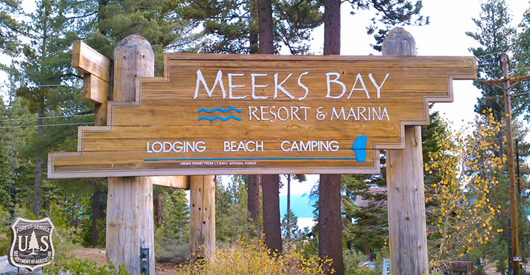 Lake Tahoe RV Parks - Meeks Bay Resort
