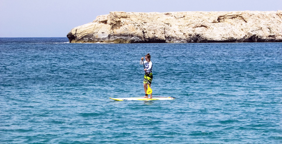 Summer RV Activities - Paddleboarding