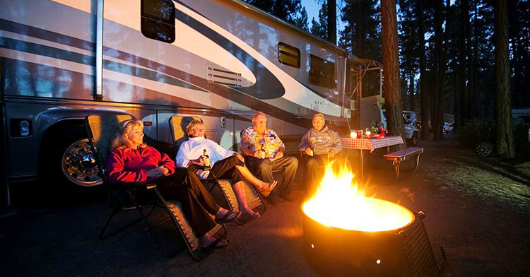 Lake Tahoe RV Parks - zephyr cove RV