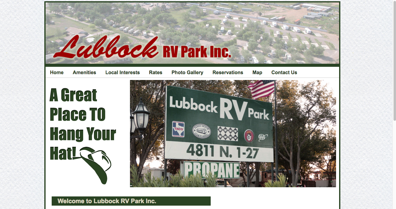 Lubbock RV Park Best RV Websites