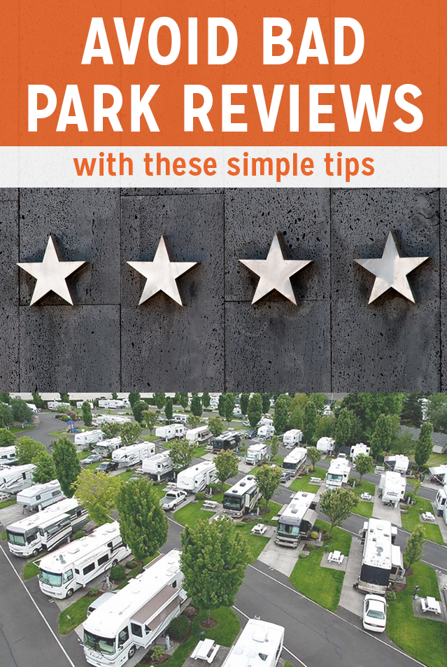 How to Avoid Bad RV Park Reviews