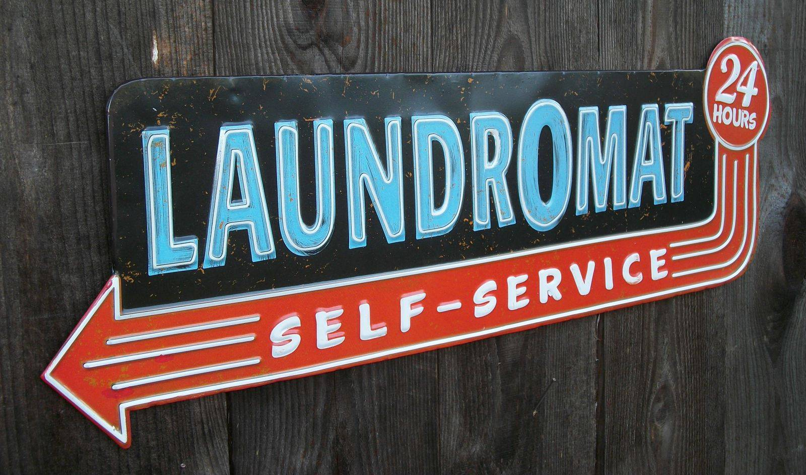 Research nearby Laundromats before you leave home.
