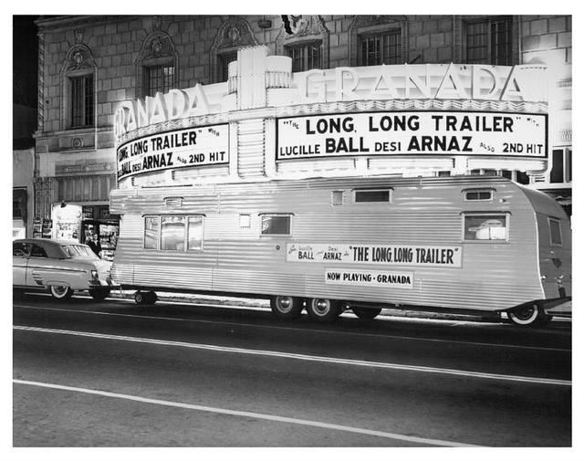 The long long trailer movie premier