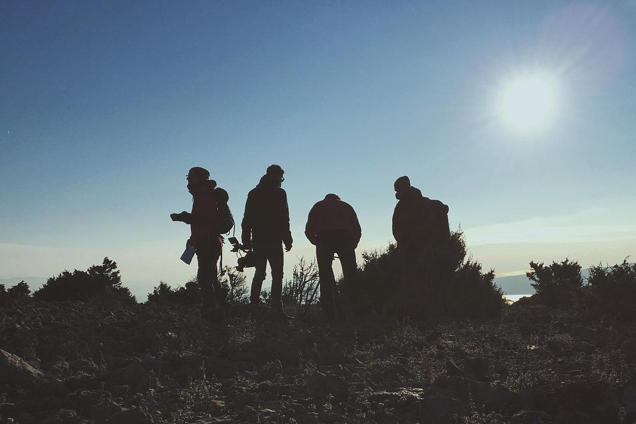 rving millennials hiking