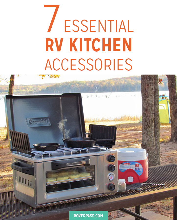 7 Essential Rv Kitchen Accessories Roverpassrhroverpass: Rv Accessories Kitchen At Home Improvement Advice
