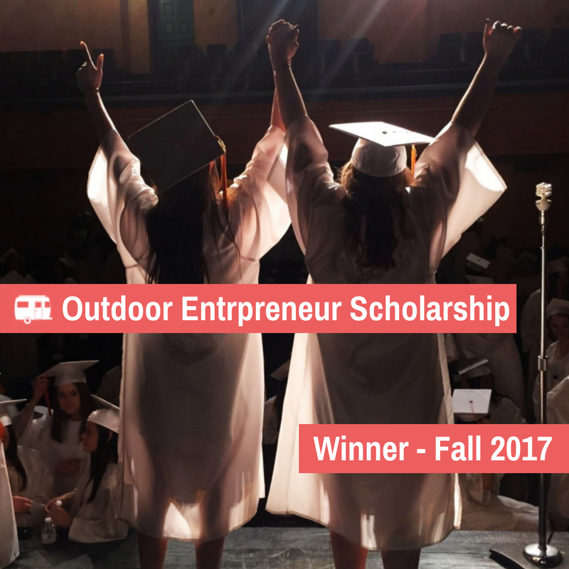 RoverPass Outdoor Entrepreneur Scholarship Winner – Fall 2017