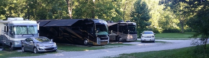 Three Springs Campground in Corinth, KY