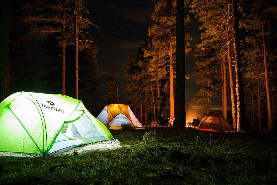 These Campgrounds Make Halloween Camping More Memorable
