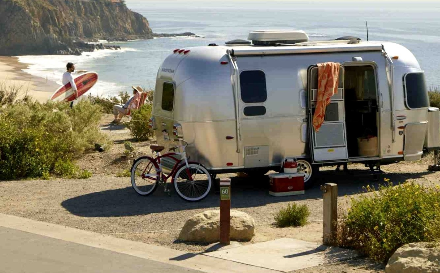 Reasons to go Glamping in Campervans and Airstreams