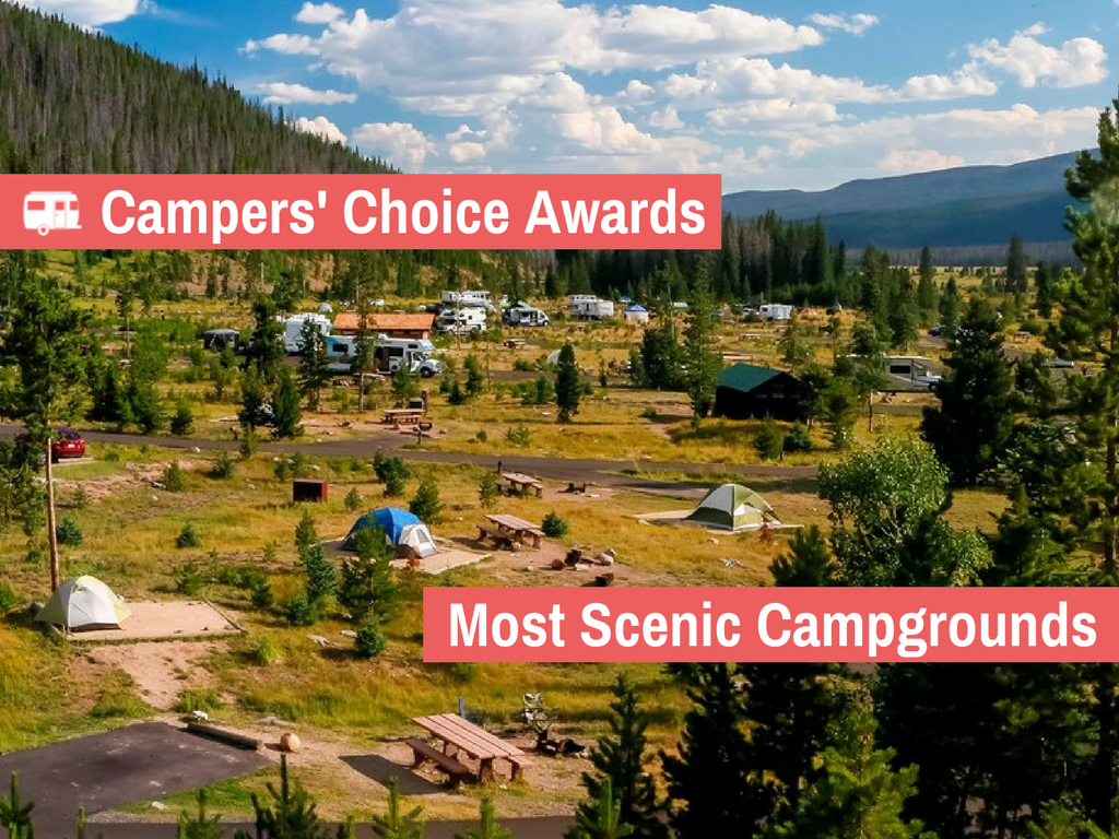 The 10 Most Scenic Campgrounds in the US (2017)