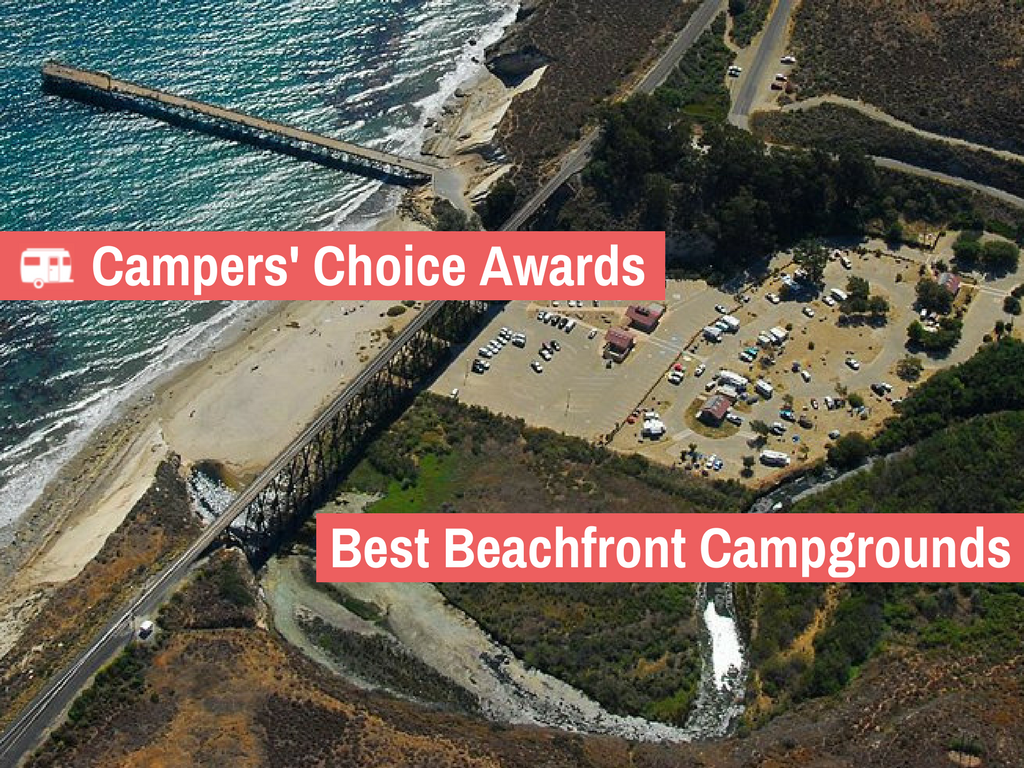 The 7 Best Beachfront Campgrounds in the US (2017)