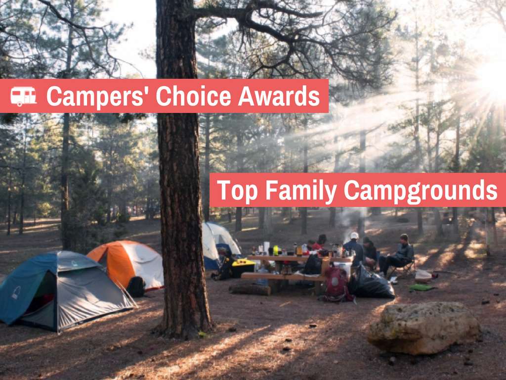 The Top 3 Family Campgrounds in the US (2017)