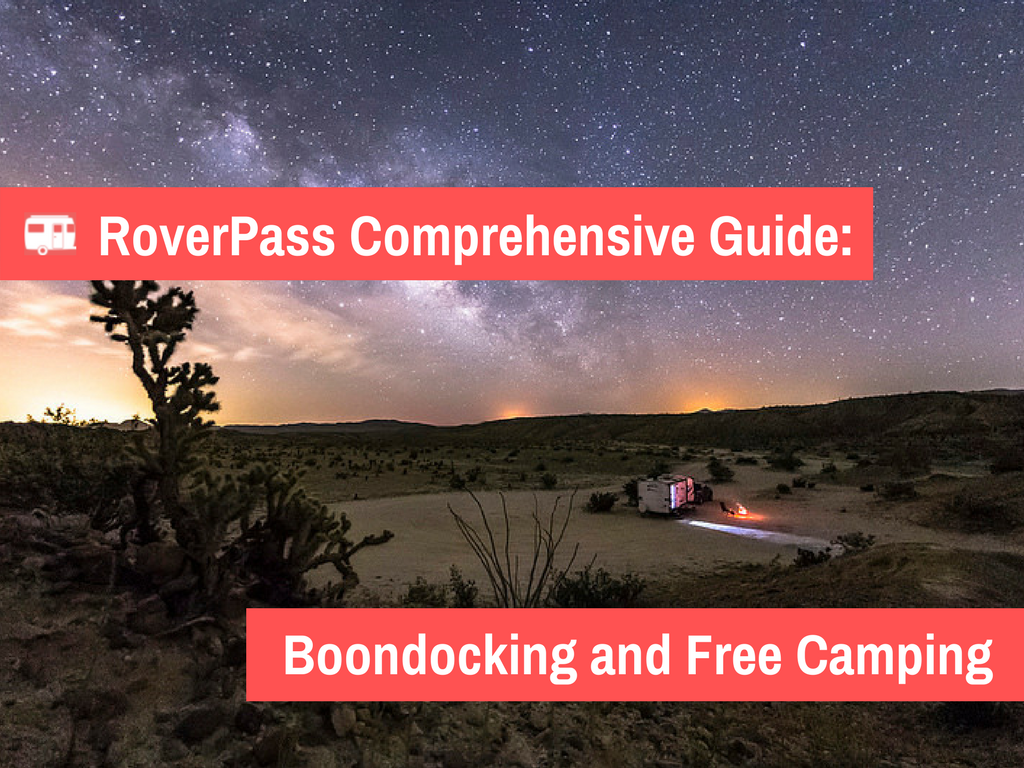 The Fundamental Guide to Free Camping and Boondocking