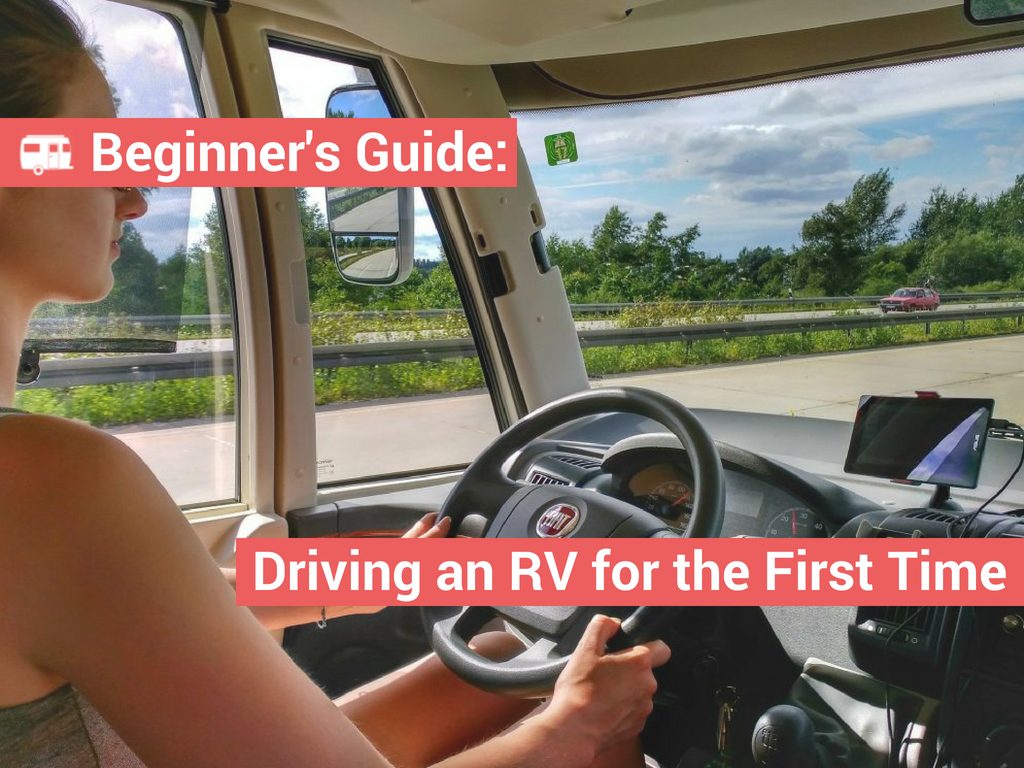 Tips for Driving an RV for the First Time