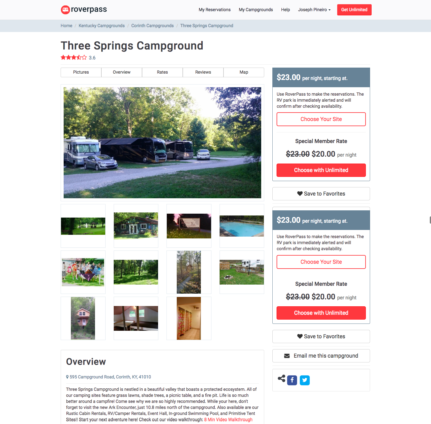campground management
